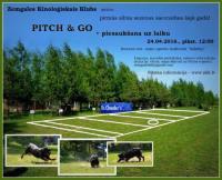 24.04.2016  PITCH & GO un PIESAUKŠANA UZ LAIKU